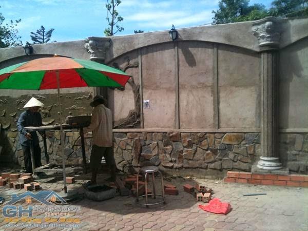 Dịch vụ thi công tranh đá - xi măng và thạch cao tại TpHCM