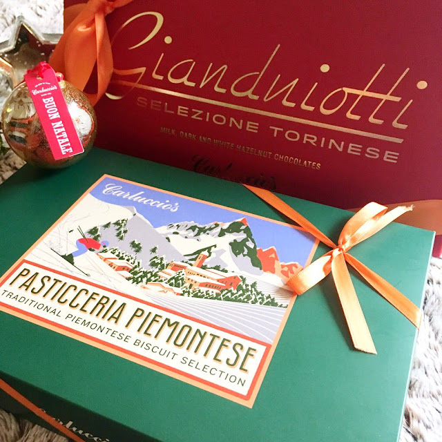 Carluccio's chocolates, biscuits and stocking fillers