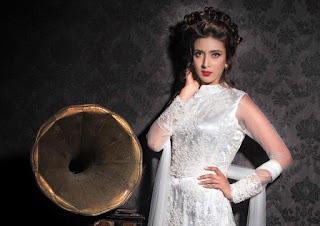 Bidya Sinha Saha Mim Actress Stills Hot In White Dress