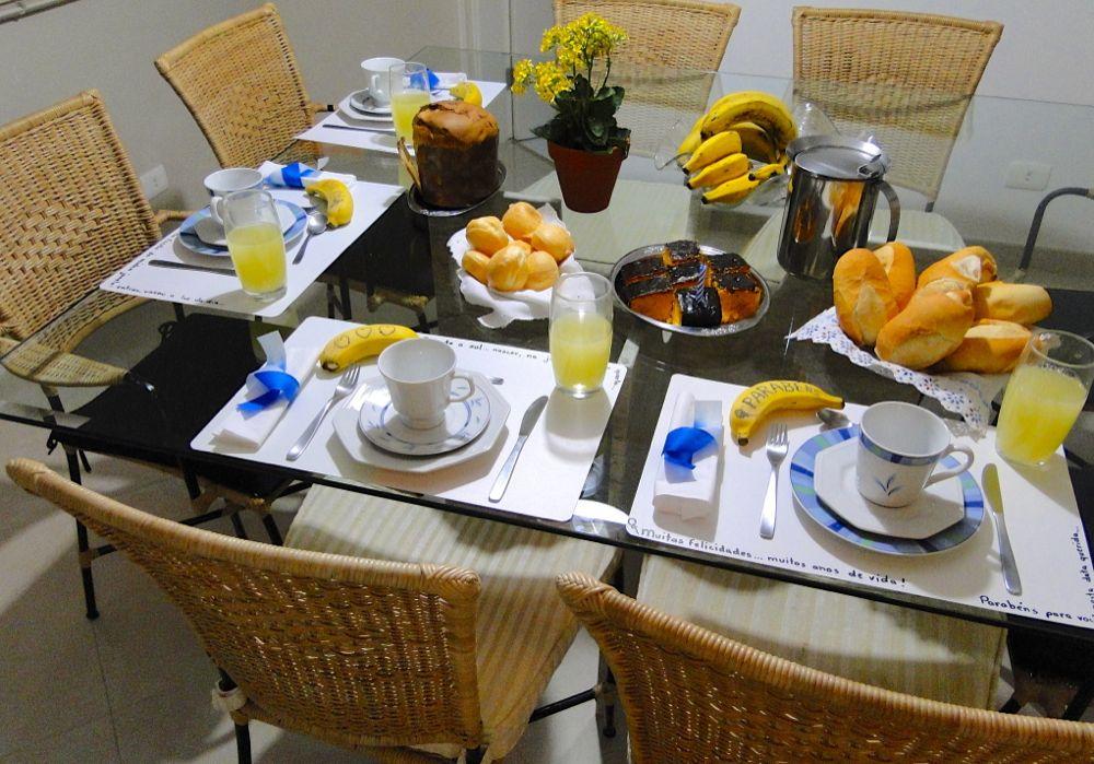 Mesa De Caf Da Manh Decorada