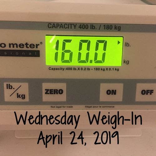 Wednesday Weigh-In