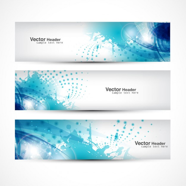 Free Vector - Decorative Banner Design Collection
