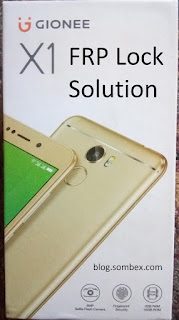 How To Remove FRP or Google Account Lock On Gionee X1/X1s On Android 7.0 Nougat