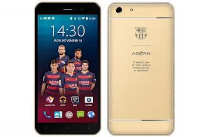 Spesifikasi dan Harga Advan i55, Hp Android layar 5.5 inchi RAM 2 GB