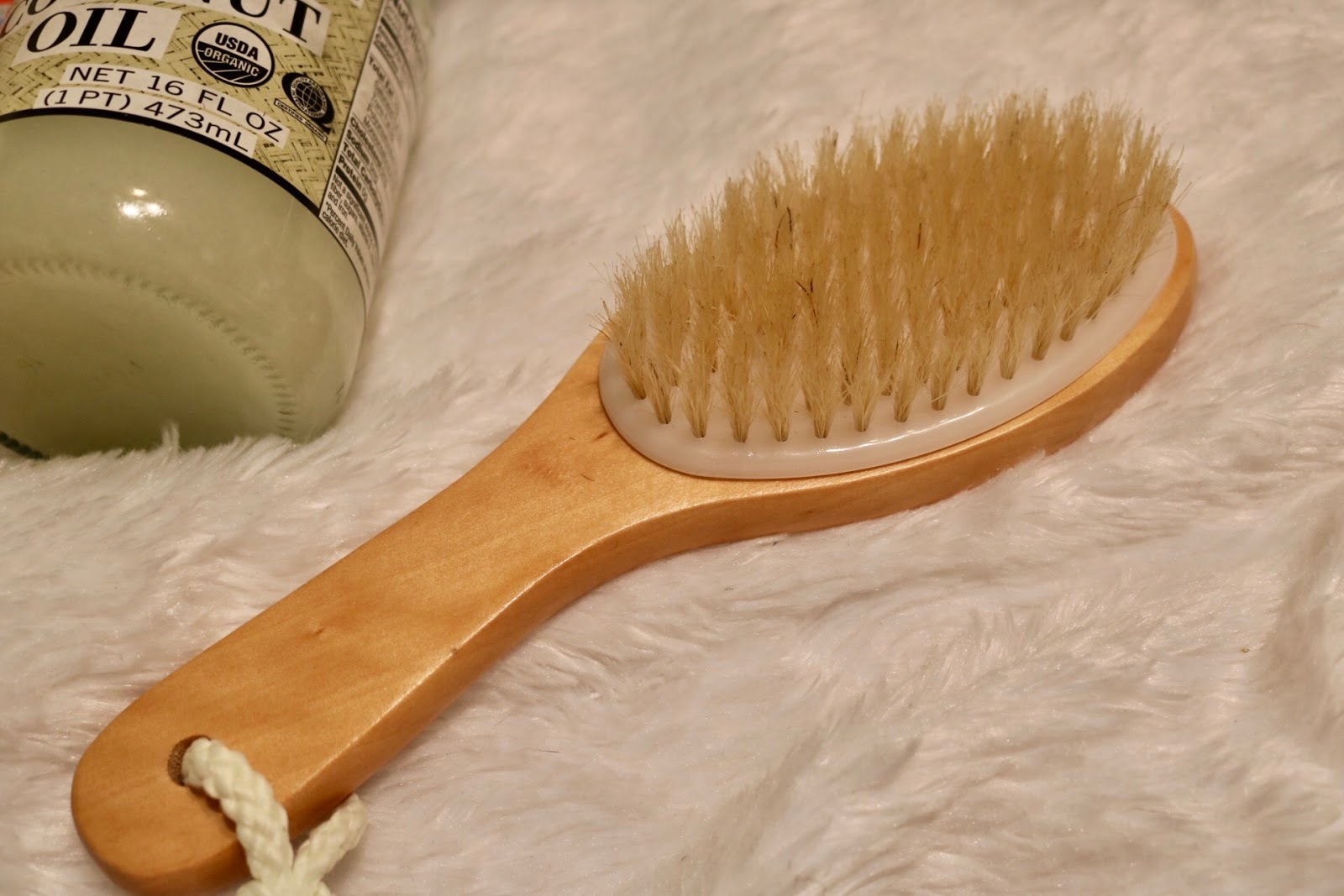 dry brush cellulite
