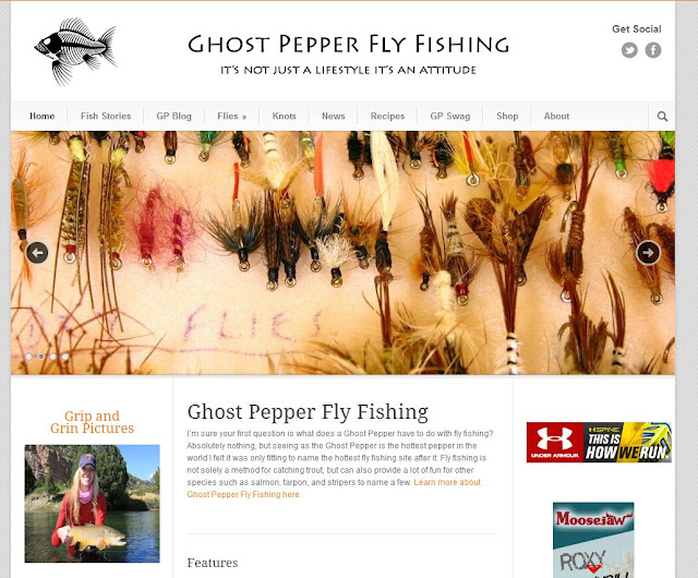 Ghost Pepper Fly Fishing