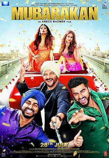 Download Film Mubarakan (2017) DVDRip Subtitle Indonesia