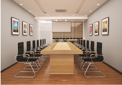 Bàn ghế phòng họp cần có kích thước hài hòa