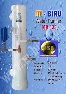 Filter Air M- biru MB135