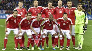 Switzerland Team Squad FIFA 2018