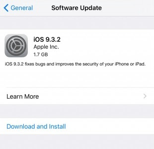 Go to Settings --- General --- Software Update and Hit download and Install.