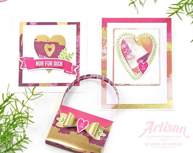 Geschenkset Voller Liebe-Stampin Up