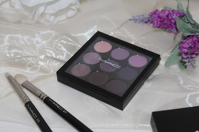 Mac Purple Time Nine Palette : swatches e prime impressioni