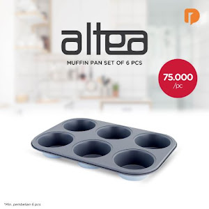 Altea Muffin Pan Set (Set of 6)