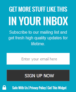 WordPress like email subscription box for blogger