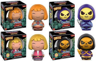 He-Man and the Masters of the Universe Dorbz Vinyl Figures by Funko