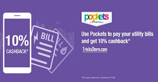Pockets App Cashback Offer