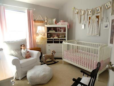 quarto bebe menina