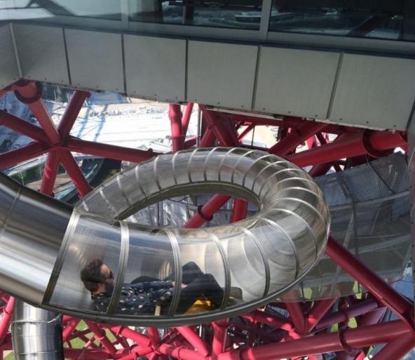 Gelongsor Terpanjang Dan Tertinggi Dunia Di London