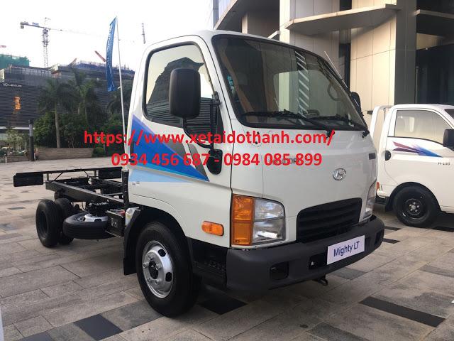 Giá xe tải 2,5 tấn Hyundai N250 thùng bạt