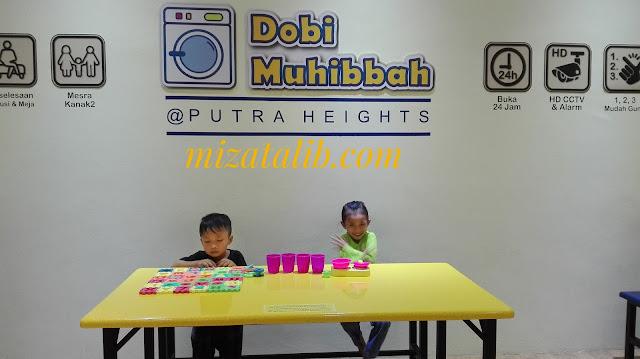 Dobi Muhibbah, Dobi Muhibbah Putra Heights, Dobi mesra Kanak-Kanak, Dobi layan Diri macam Rumah sendiri