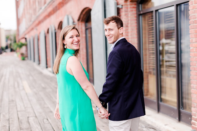 Baltimore summer sunrise engagement session photographed by Heather Ryan Photography