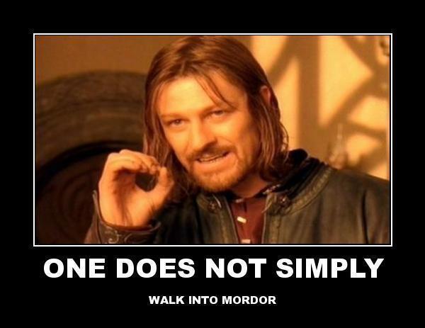 Mordor Meme Meaning