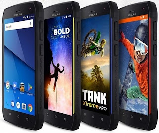 BLU Tank Xtreme Pro – Android Tahan Banting 4G LTE Baterai 4300mAh
