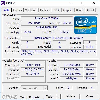 برنامج-cpuz-لمعرفة-مواصفات-امكانيات-الكمبيوتر-بدقة