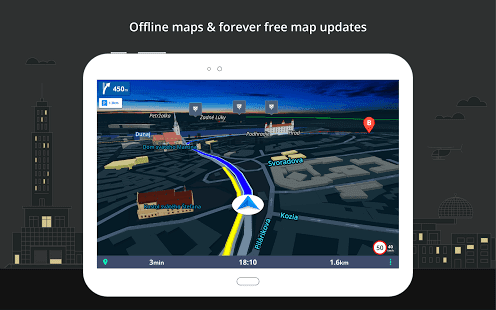 gps navigation and maps sygic download