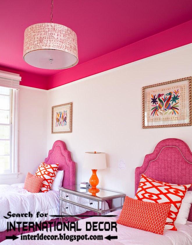 nursery ceiling paints designs for nursery, pink ceilings,kids ceiling decorations