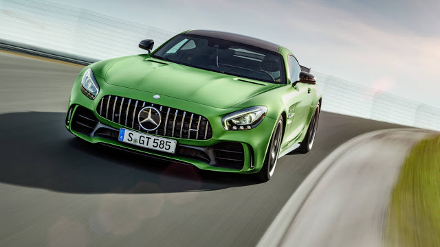 Mercedes AMG GT-R Top Speed