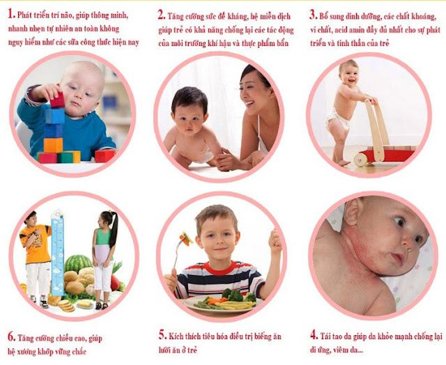 Chống suy dinh dưỡng cho trẻ nhỏ bằng tổ yến