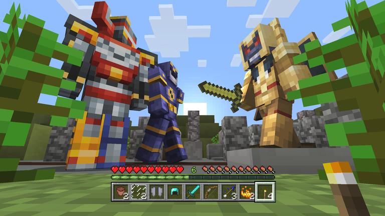 NickALive Minecraft Releases Power Rangers Skin Pack - Descargar skins para minecraft pe gamer