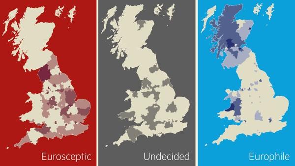 Attitudes towards the EU in Britain