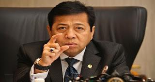 Soal Foto Pramuka Makan di Tanah, Begini Reaksi Ketua DPR RI Setya Novanto