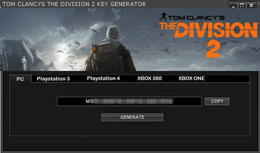 TOM CLANCYS THE DIVISION 2 KEYGEN KEY GENERATOR FOR FULL GAME +