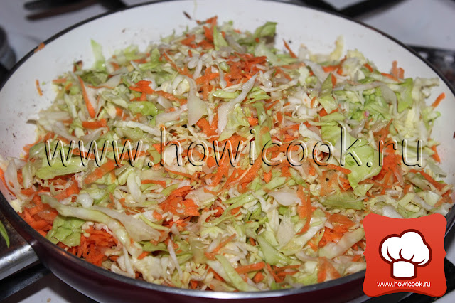 Тушеная молодая капуста с томатом рецепт пошаговые фото