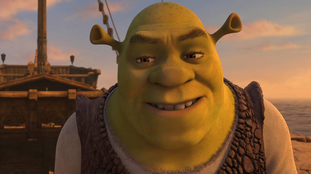 Shrek Tercero (2007) BRRip 720p Latino - Ingles captura 1