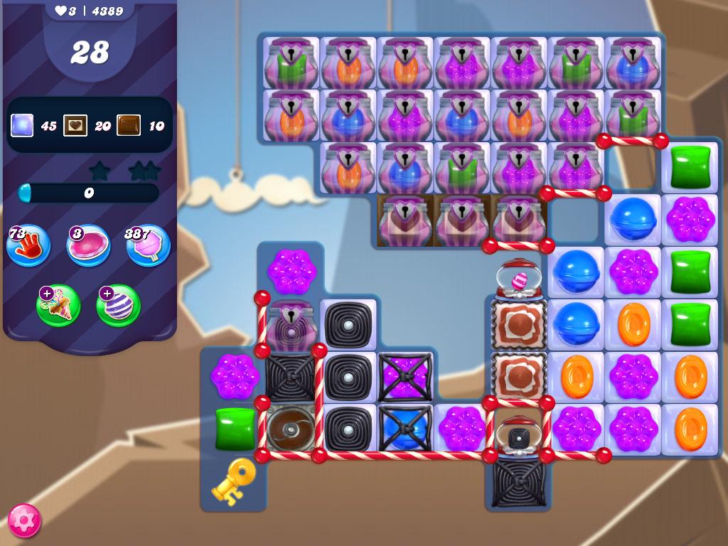 Candy Crush Saga level 4389