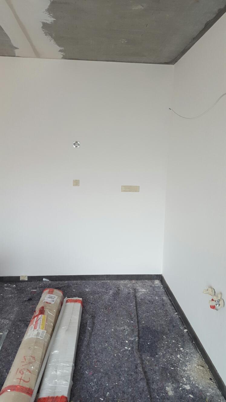 sprung ins gr ne kurzer blick auf die malerarbeiten. Black Bedroom Furniture Sets. Home Design Ideas