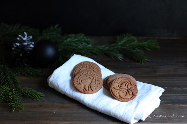 Stempelcookies mit weihnachtlichen Gewürzen