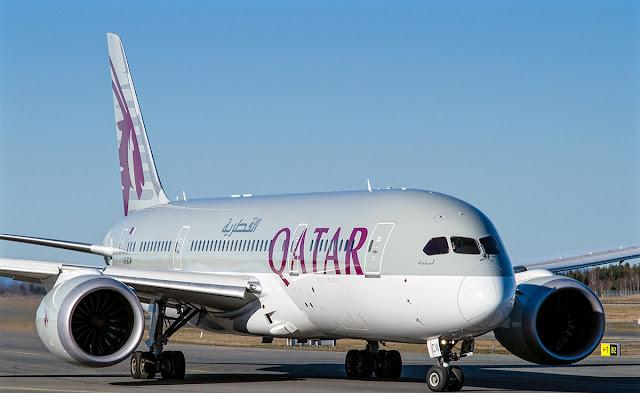 boeing 787-8 dreamliner qatar airways