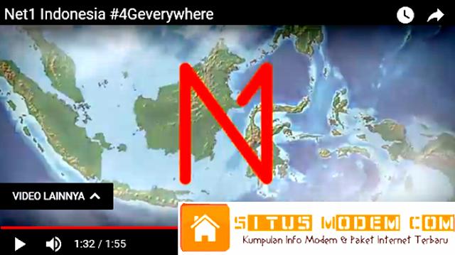 Cakupan Jaringan 4G LTE Net1 Indonesia Masih Minim ! Berikut Daftar Kota yang Sudah Tercover