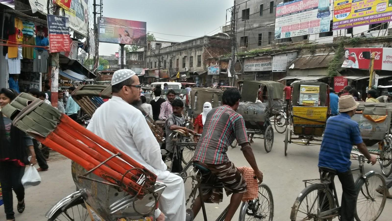 varanasi india hindistan