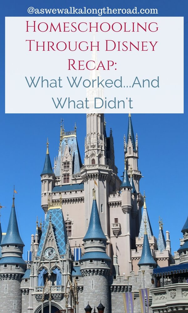 Homeschooling through Disney World