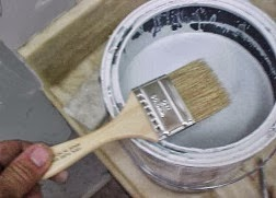 To prep the cement prior to painting a cement primer should be used