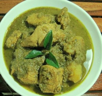 ஸ்பைசி புதினா சிக்கன் மசாலா  -  Spicy Pudhina Chicken Masala