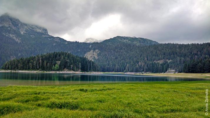 Черное озеро в национальном парке Дурмитор, Черногория