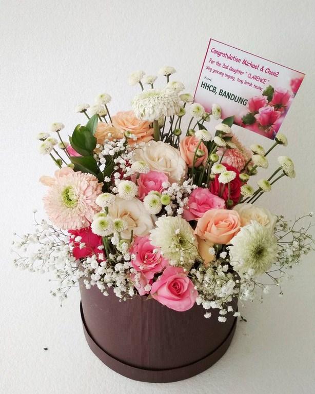 Karangan Bunga Box 013
